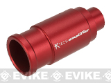 K-Tech Airsoft Machined Aluminum Airsoft Amplifier - 14mm Negative (Color: Matte Red)