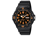 Casio MRW200HB-4BV Analog Military Watch - Orange / Black