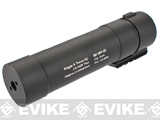 B&T MP9 QD Barrel Extension / Mock Silencer for MP9 Series Airsoft GBB Rifles