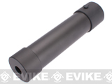CQB Master Mock Silencer Barrel Extension for KWA / KSC TMP9 Airsoft GBB SMG - 35x170
