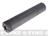 Matrix P90 / Sniper / Type96 Type 155mm Airsoft Barrel Extension / Mock Silencer (14mm- / CCW)