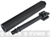 Mock Silencer & Aluminum Threaded Outer Barrel Set for H&K UMP UMG Series Airsoft AEG