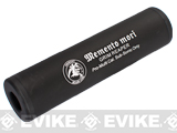 Matrix Airsoft Mock Silencer / Barrel Extension - 30 X 110mm (Style: Grim Reaper / Black)