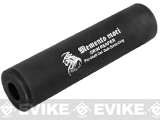 Matrix Airsoft Mock Silencer / Barrel Extension - 30 X 110mm (Style: Grim Reaper #2 / Black)