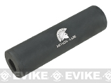 Matrix Airsoft Mock Silencer / Barrel Extension - 30 X 110mm (Style: Molon Labe  / Black)