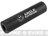 Matrix Airsoft Mock Silencer / Barrel Extension - 30 X 110mm (Style: SMILE  / Black)