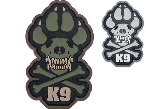 Mil-spec Monkey K9 PVC Moral Patch
