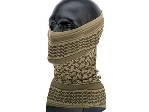 Mil-Spec Monkey MSM Shemagh Multi Wrap (Color: Dusty Brown)