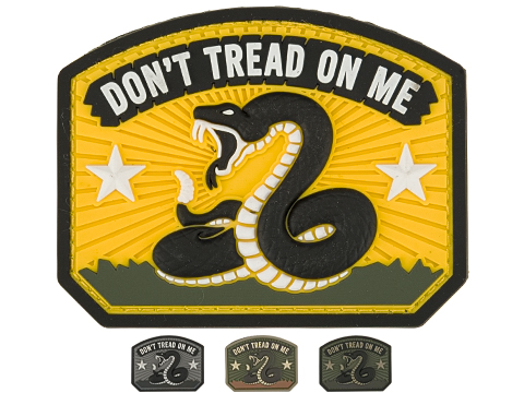Mil-Spec Monkey Don't Tread PVC Morale Patch