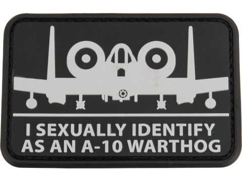 Mil-Spec Monkey A10Sexual PVC Morale Patch (Color: Urban)