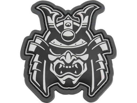 Mil-Spec Monkey Samurai Head 1 PVC Morale Patch (Color: Urban)