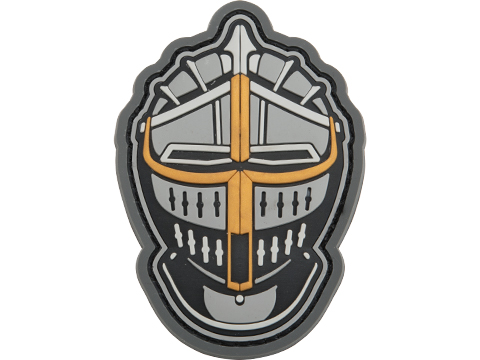 Mil-Spec Monkey Knight Head 1 PVC Morale Patch (Color: Fullcolor)