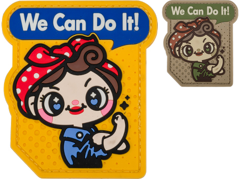 Mil-Spec Monkey We Can Do It Cute PVC Morale Patch (Color: Full Color)