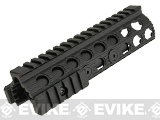 G&P Railed Handguard for Marui Type Airsoft Shotguns (Type A) - Black