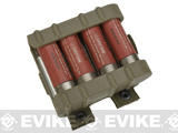 G&P Shotshell Caddy for Tokyo Marui Type Airsoft Shotgun Shells (Color: Sand)