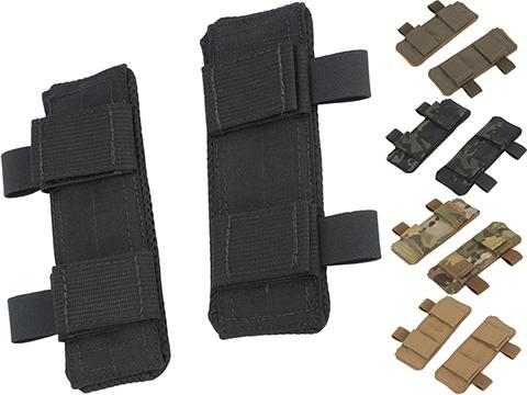Mission Spec Shoulder Savers Shoulder Pad for Mission Spec Plate Carriers (Color: Black)