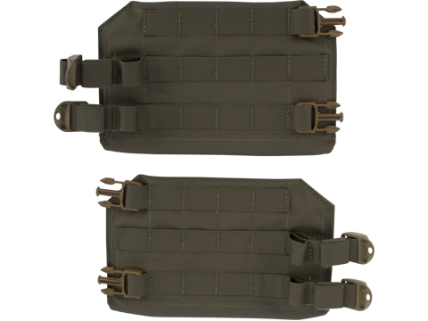 Mission Spec FlankSavers Side Armor Plate Adapters for AC2 and EC2 Plate Carriers  (Color: Ranger Green)