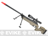ARES Airsoft MSR-009 Gas Powered Bolt Action Sniper Rifle - Dark Earth