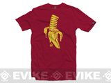 Black Rifle Division Banana Clip T-Shirt  - Cardinal