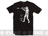Black Rifle Division Spray and Pray T-shirt - Black (Size: Medium)