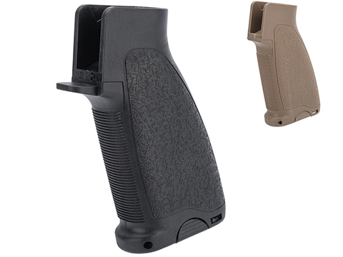 Matrix Ergonomic Combat Motor Grip Type B for M4 / M16 Series Airsoft AEG Rifles (Color: Dark Earth)