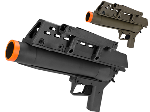 AG36 Grenade Launcher for G36 Airsoft AEG (Color: Black)
