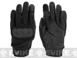 Evike.com Guardian Hard Knuckle Tactical Gloves (Color: Black / Large)