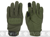 Evike.com Guardian Hard Knuckle Tactical Gloves (Color: OD Green / Medium)