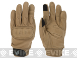 Evike.com Guardian Hard Knuckle Tactical Gloves (Color: Tan / Small)