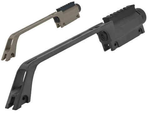 Matrix Military Style Carrying Handle w/ Built-In 3.5x Scope For G36 Series Airsoft AEG (Color: Black)
