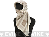 Matrix Woven Coalition Desert Shemagh / Scarves (Color: Brown / Tan)