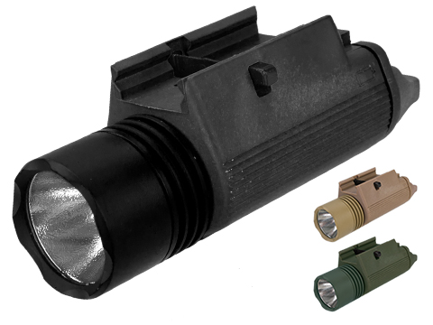 Matrix Tactical M3 Illuminator Combat Light (Color: Black / 230 Lumens)