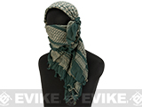 Matrix Woven Coalition Desert Shemagh / Scarves (Color: Tan / OD)