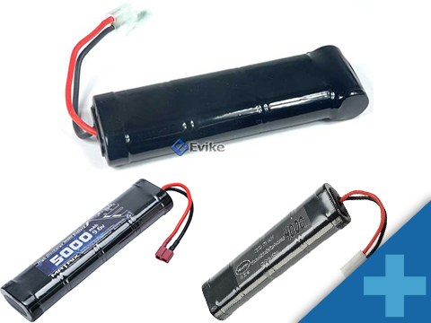 Matrix High Output Large Type Airsoft NiMH Battery (Configuration: 9.6V / 5000mAh / Large Tamiya)