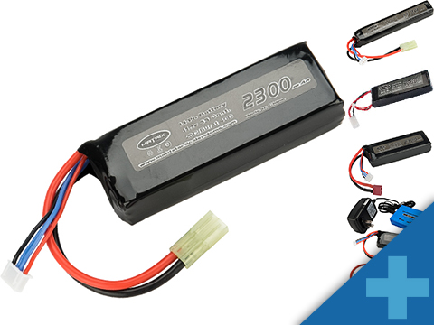 Matrix High Performance 11.1V Brick Type Airsoft LiPo Battery (Configuration: 1100mAh / 15C / Small Tamiya)