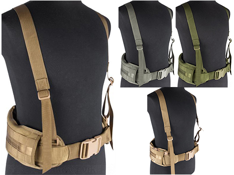 Matrix TMC MOLLE Gen II Belt with Suspenders