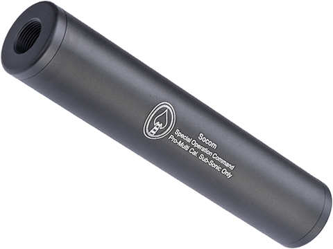Matrix Airsoft Mock Suppressor / Barrel Extension - 30 X 150mm (Style: SOCOM / Black)
