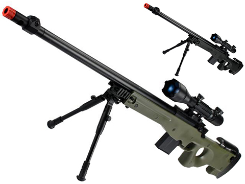 Matrix L96 Marui Clone AWS Bolt Action Airsoft Sniper Rifle w/ Scope