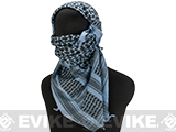 Matrix Woven Coalition Desert Shemagh / Scarves (Color: Navy/Black)