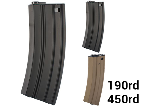 Matrix / CYMA Delta Metal Magazine for M4 / M16 / MK16 / L85 Series Airsoft AEG Rifles
