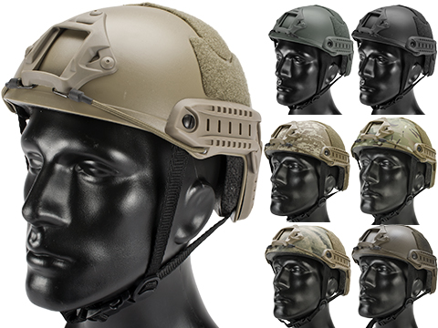 Matrix Basic High Cut Ballistic Type Tactical Airsoft Bump Helmet (Color: Black)