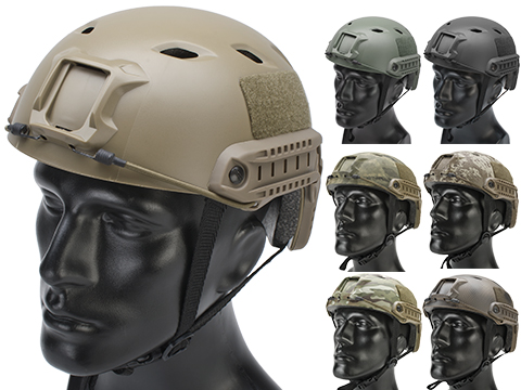 Matrix Basic Base Jump Type Tactical Airsoft Bump Helmet (Color: Black)