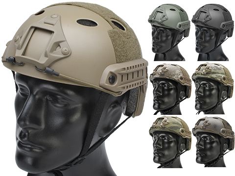 Matrix Basic PJ Type Tactical Airsoft Bump Helmet (Color: Dark Earth)