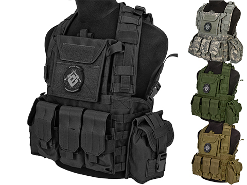 Matrix Tactical Systems Modular Chest Rig w/ Full Pouch Set