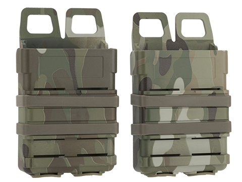 Matrix Fast Hard Shell Magazine Holster - 2x Rifle Mag Configuration (Color: Camo)