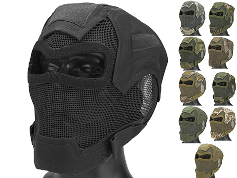 Matrix Iron Face Carbon Steel Watcher Gen7 Metal Mesh Full Face Mask