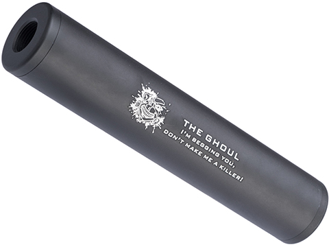 Matrix Airsoft Mock Suppressor / Barrel Extension - 30 X 150mm (Style: Ghoul / Black)