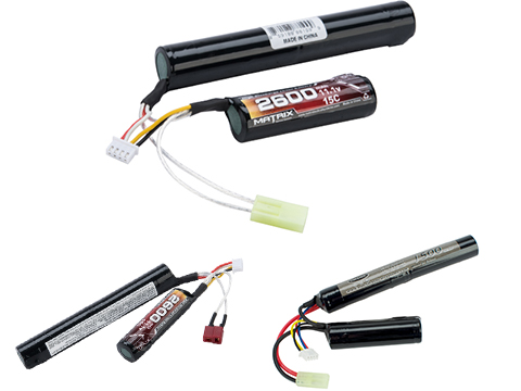 Matrix High Performance 11.1V Butterfly Type Airsoft Li-Ion Battery (Configuration: 2600mAh / 15C / Small Tamiya)