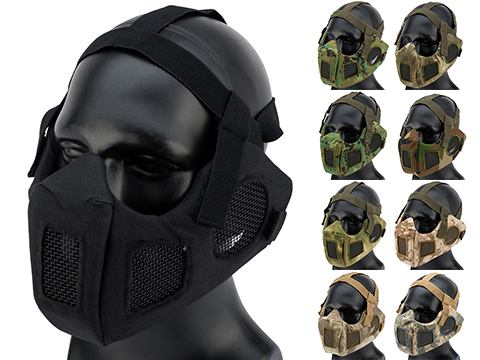 Matrix V5 Conquerors Mask Half Face Mask w/ Ear Protection and Ventilation