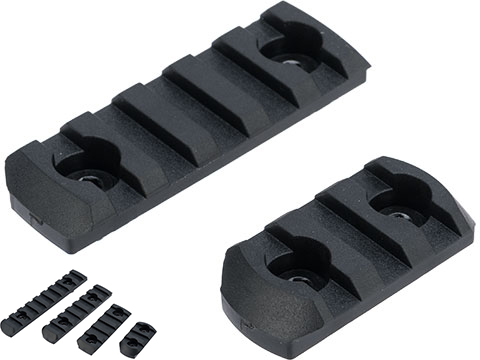 Matrix Polymer Modular Rail Sections for M-LOK Handguards